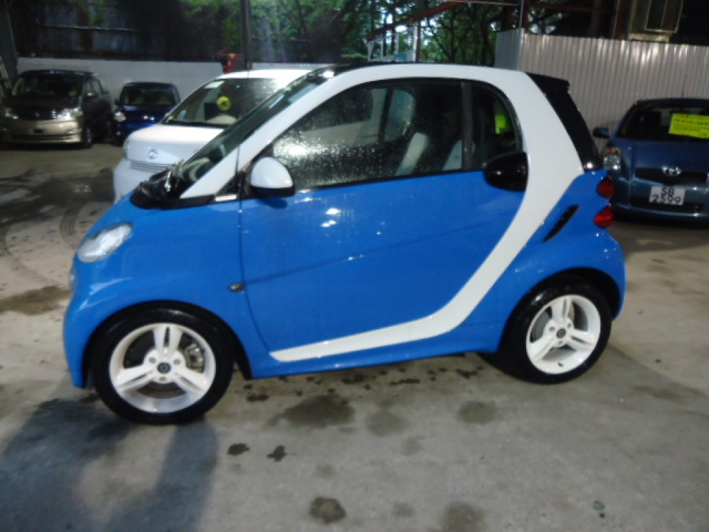 Mercedes benz smart fortwo for Smart car mercedes benz