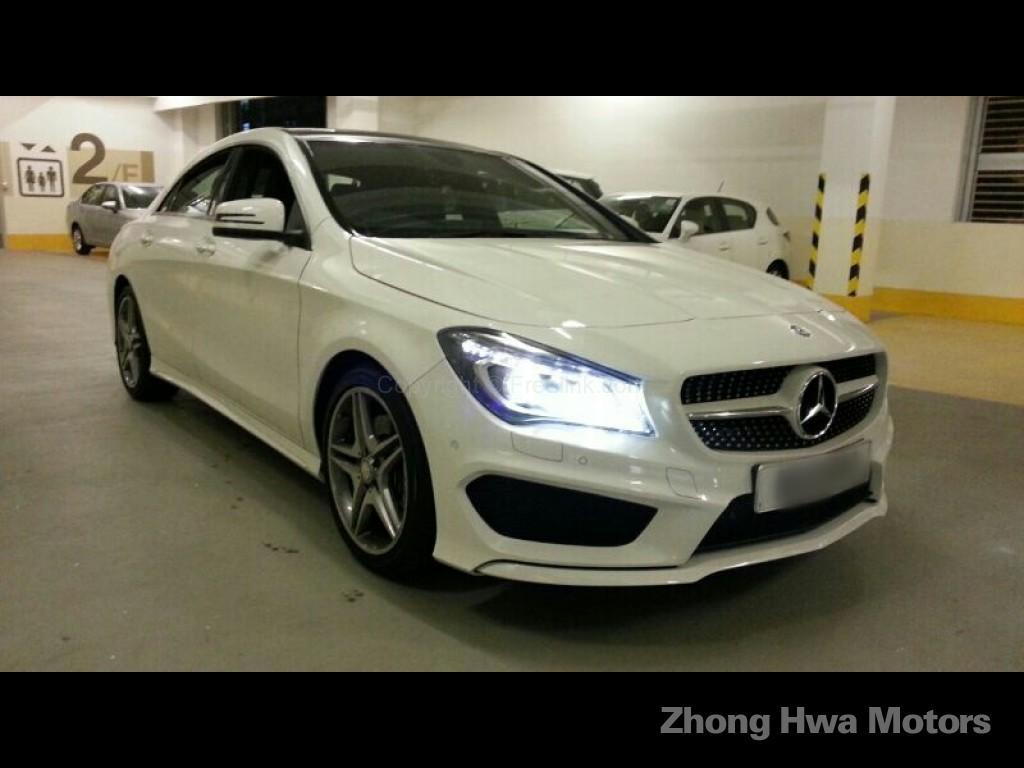 Zhong hwa motors co ltd mercedes benz cla 250 amg for Mercedes benz cla 250 amg price