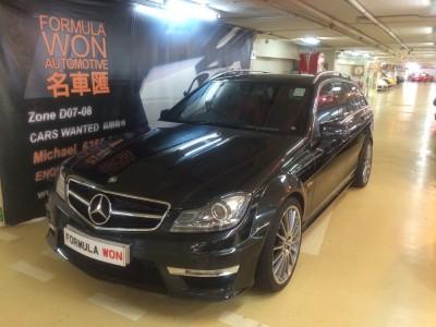平治 C63 AMG Estate Facelift