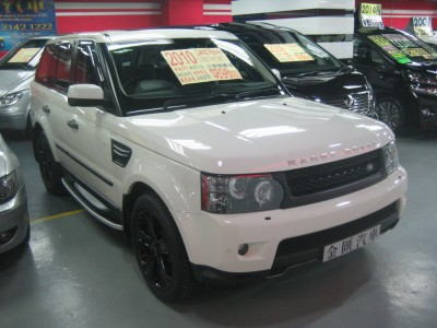 越野路華 Range Rover Sport5.0