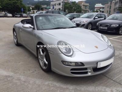 Porsche 997 carrera 4 convertible