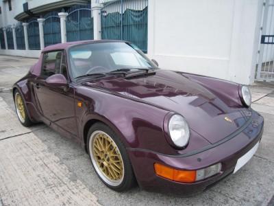 Porsche 964 CARRERA 2 CAB TURBO LOOK