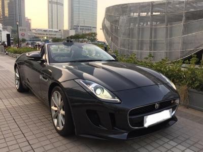 Jaguar F-type S cab