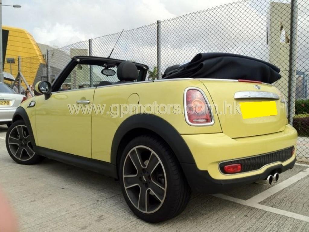 Mini Cooper S Cab.
