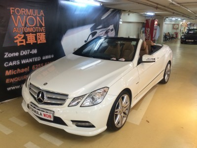 Mercedes-Benz E200 Cabriolet AMG Package