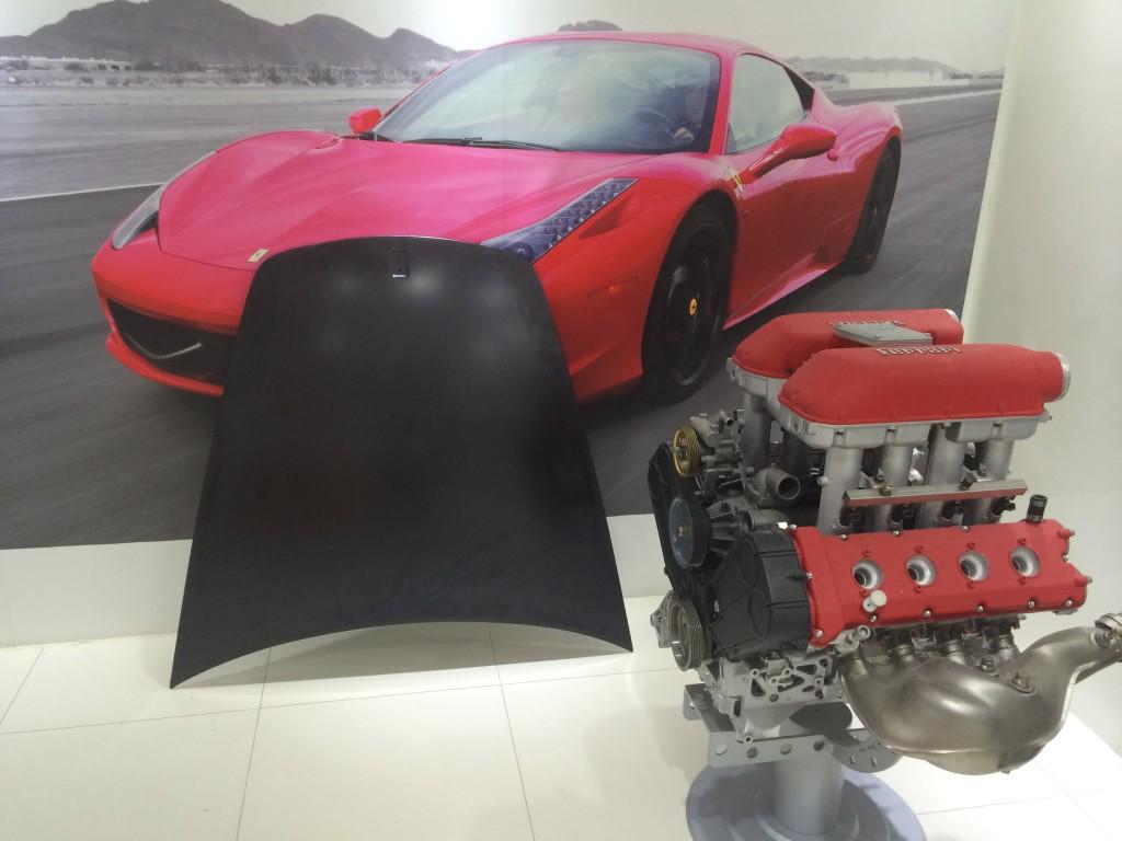 Ferrari  SheetedCompleteFront