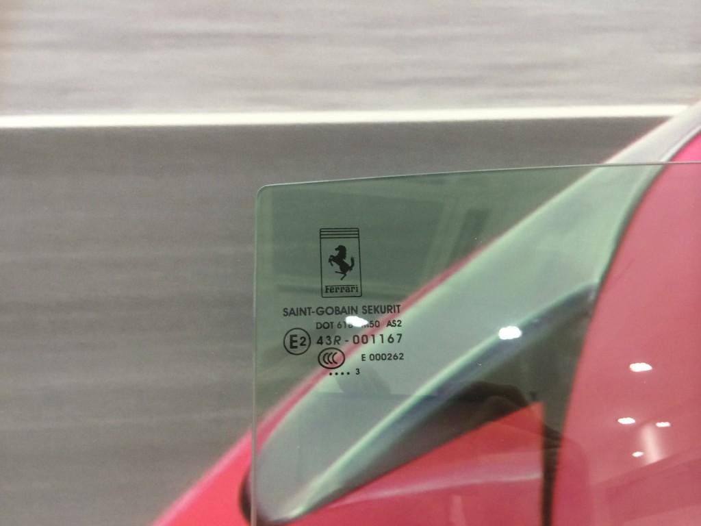 Ferrari  RH Door Window