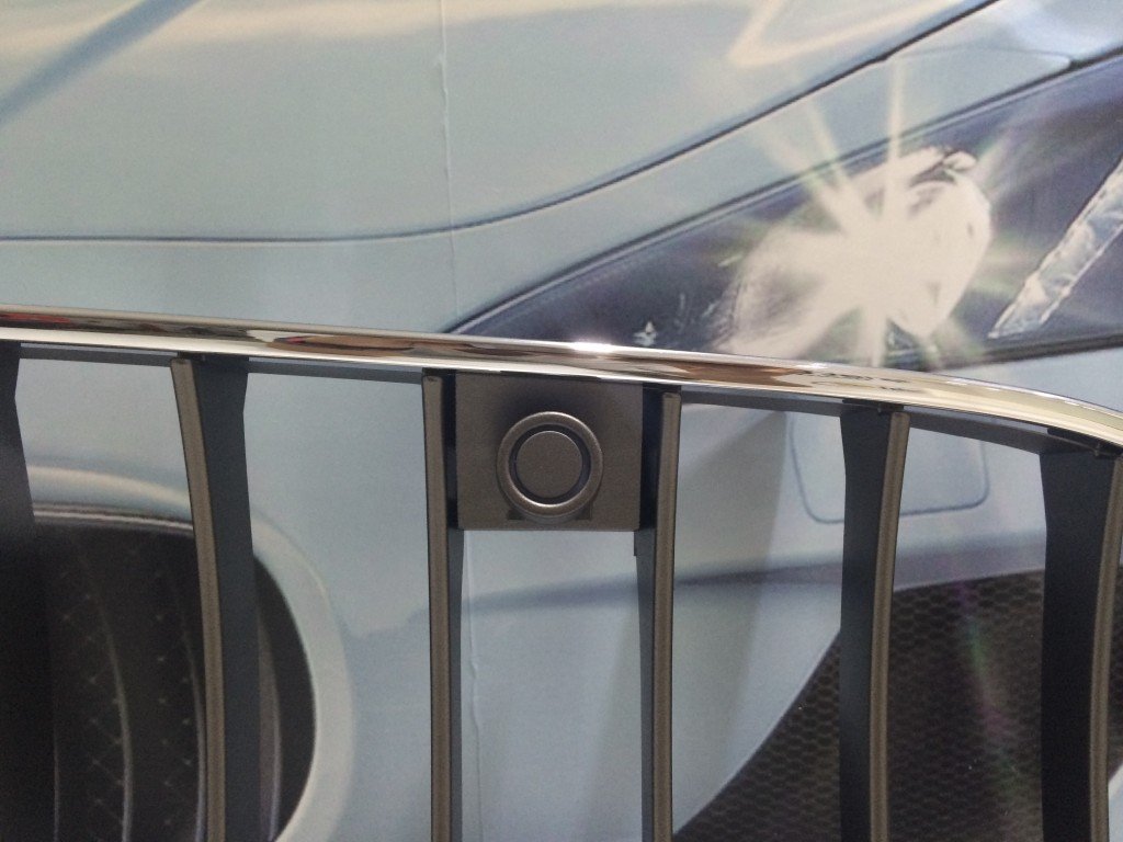 Maserati  Complete Front Grill with Front Park Sensors