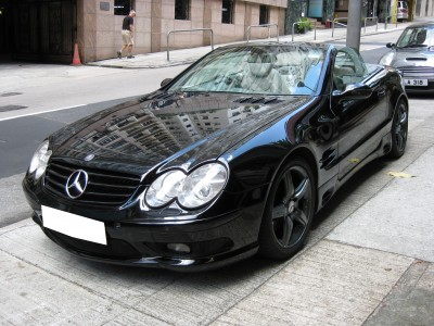 Mercedes-Benz SL500 Roadster