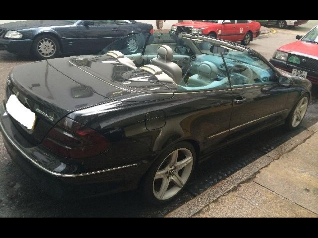 Mercedes-Benz CLK320 CAB CONV