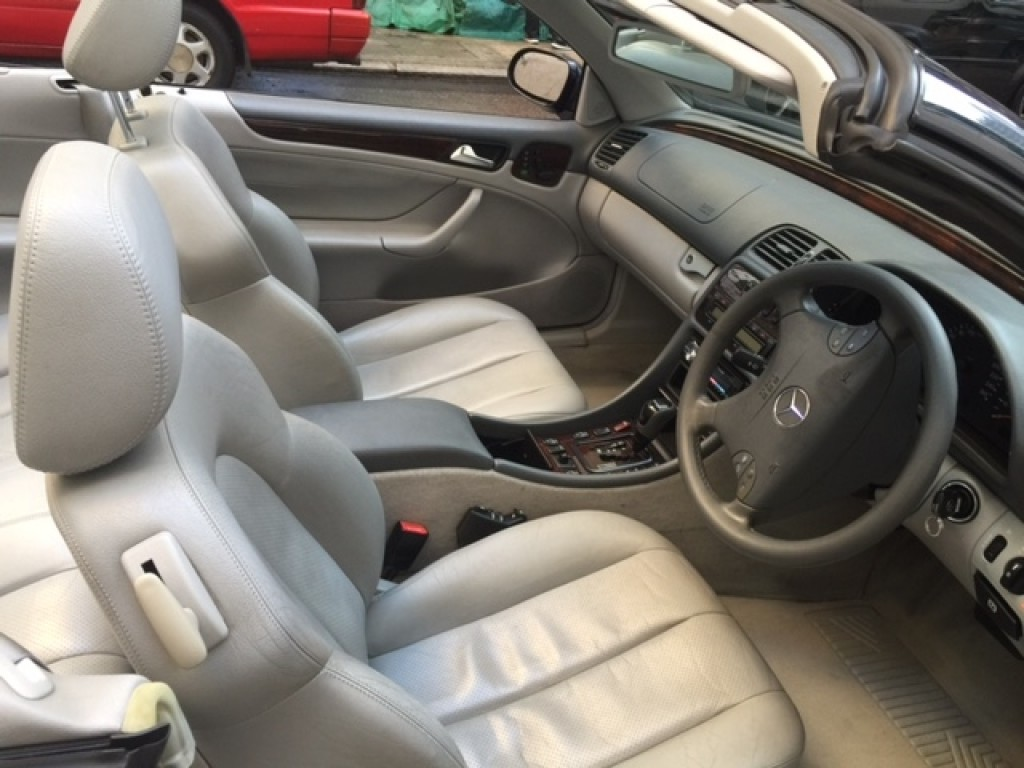 Mercedes-Benz CLK230 CAB CONV