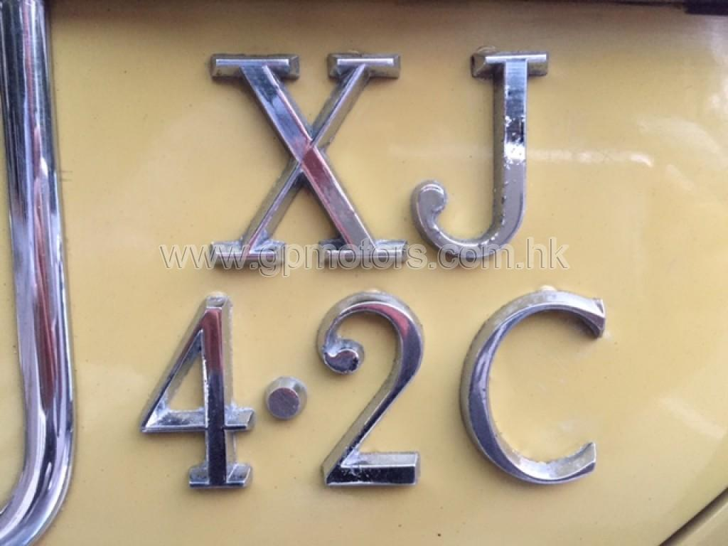 Jaguar XJ 4.2C