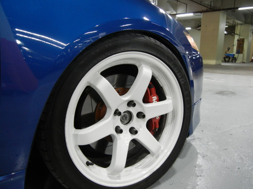 Honda  ACCORD CL7 EURO R