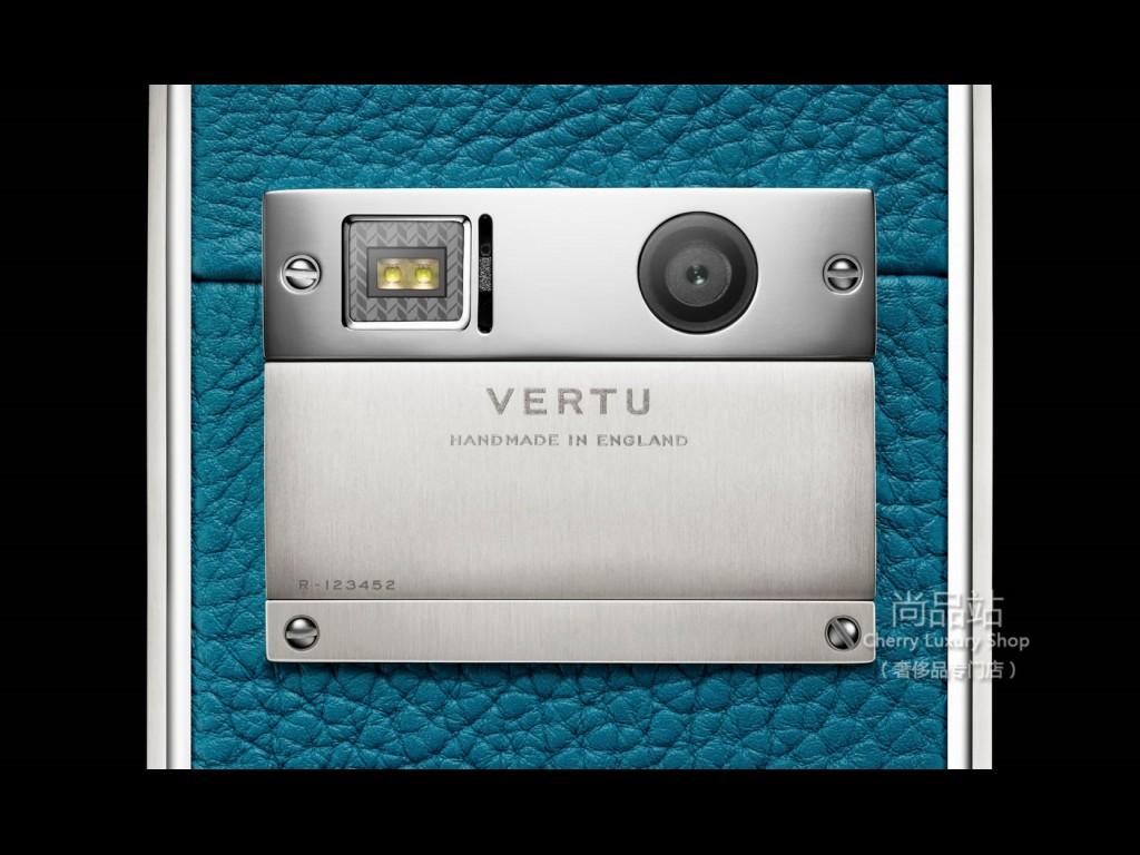 Vertu Aster湖綠色小牛皮(M121)