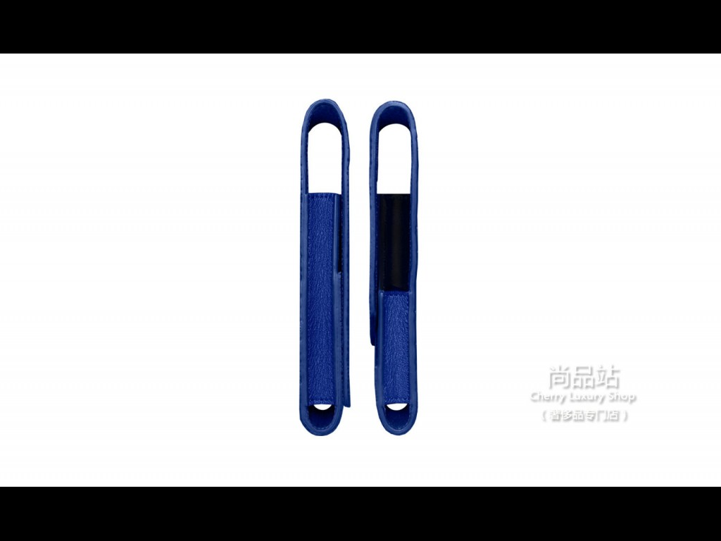 Vertu 蓝色珍珠鱼皮翻盖手机套