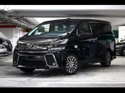 Toyota VELLFIRE 3.5 ZA-G