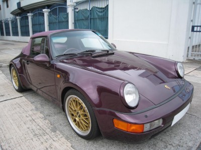 Porsche 964 CARRERA 2 CAB TURBO LOOK