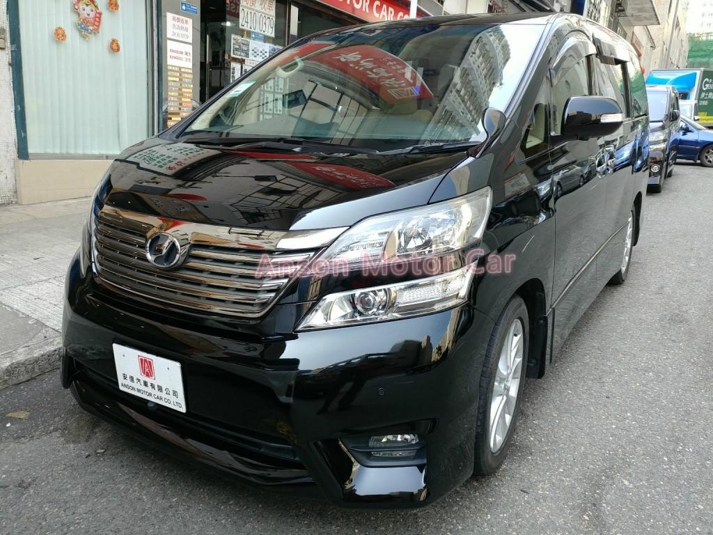Toyota VELLFIRE 3.5 ZG V6