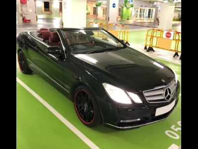Mercedes-Benz E200 BlueEfficiency Cabriolet