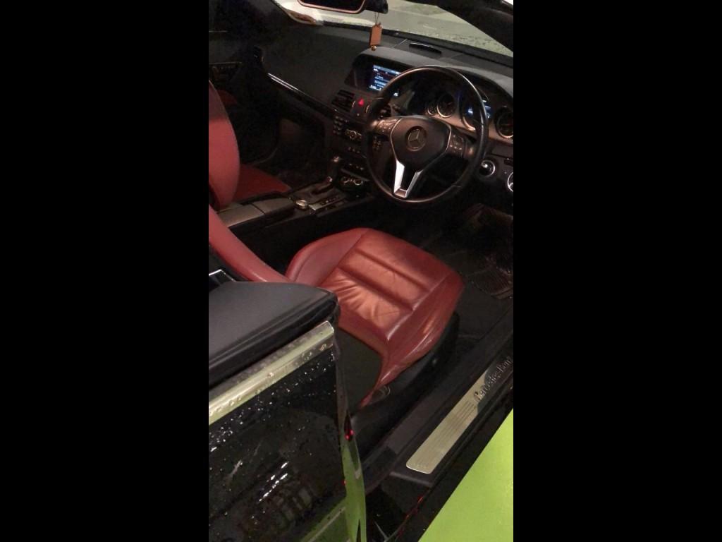 Mercedes-Benz E200 BlueEfficiency Cabriolet