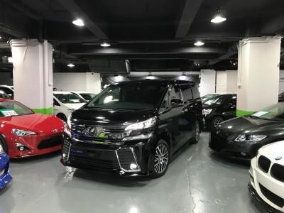 Toyota  VELLFIRE ZAG JBL