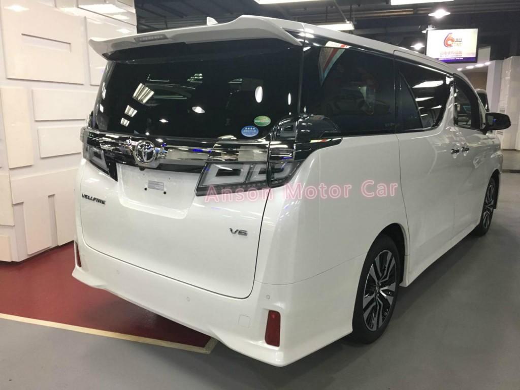 Toyota VELLFIRE FACELIFT 3.5 ZG V6