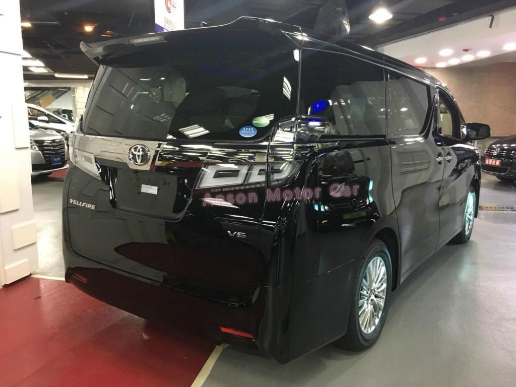 Toyota VELLFIRE FACELIFT 3.5 VL V6