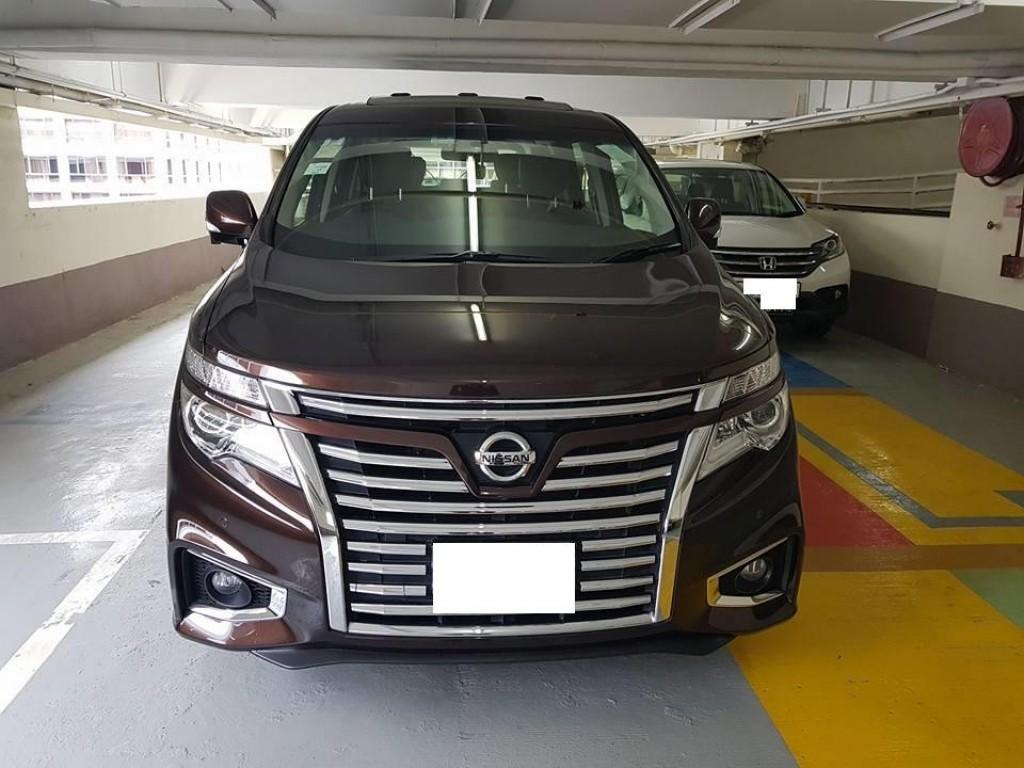 Nissan Elgrand 2.5L HWS AVM
