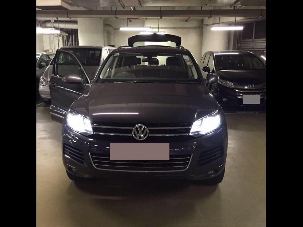 Volkswagen Touareg V6 BMT