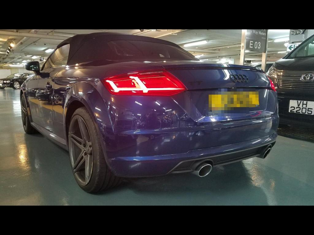Audi TT cab