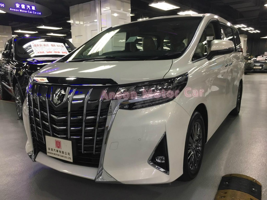 Toyota ALPHARD FACELIFT 3.5 EXECUTIVE LOUNGE