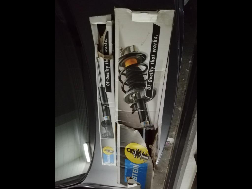 BMW  Bmw323 4支避震 無漏油 (黃色)