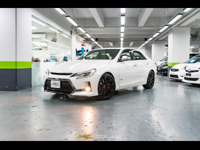 Toyota Mark X 350S +M Supercharger