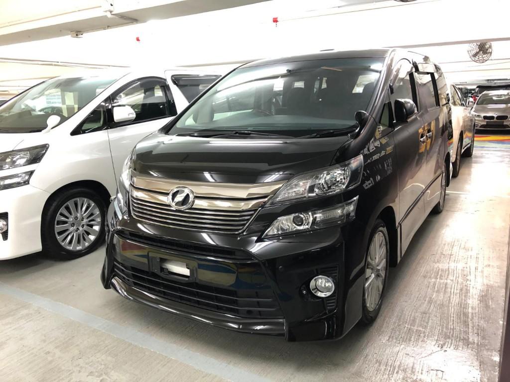 Toyota vellfire ZG 2.4