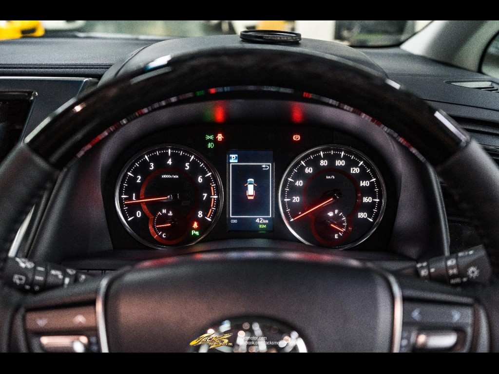 Toyota Alphard 2.5 SC Facelift