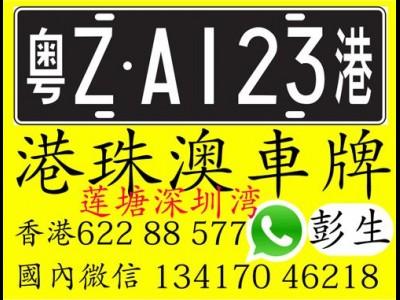 Audi 粤港車牌辦理和轉手 彭生 微信13417046218